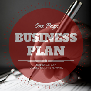 free one page business plan compass career business solutions